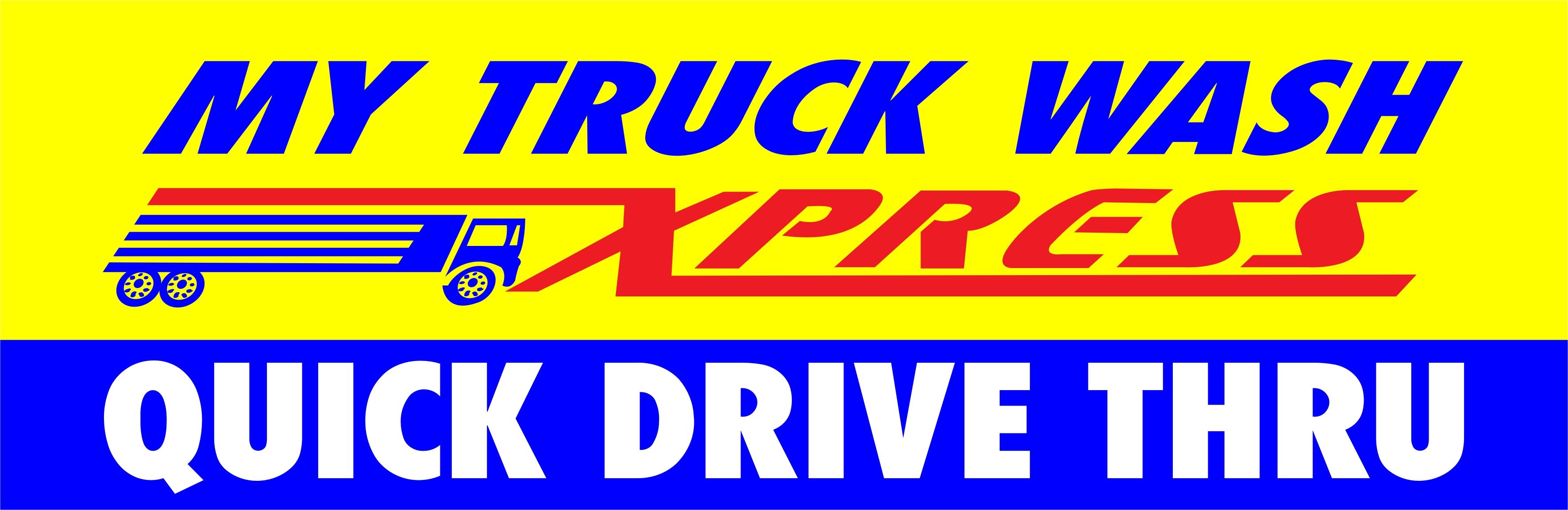 My Truck Wash Express Logo WA